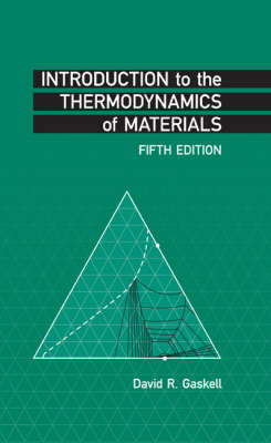 Introduction to the Thermodynamics of Materials (BOK)