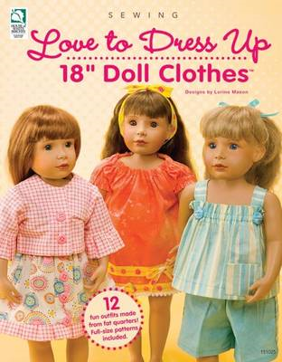 "Love to Dress Up 18"" Doll Clothes (BOK)"