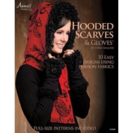 Hooded Scarves & Gloves: 10 Easy Designs Using Fashion Fabrics (BOK)
