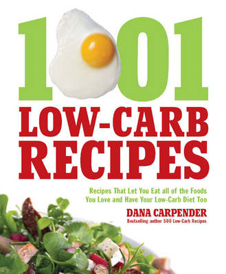 1,001 Low-Carb Recipes (BOK)