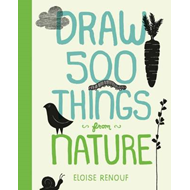 Draw 500 Things from Nature (BOK)
