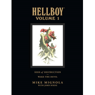 Hellboy Library Volume 1: Seed Of Destruction And Wake The D (BOK)