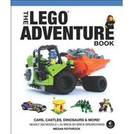 The LEGO Adventure Book: Volume 1: Cars, Castles, Dinosaurs & More! (BOK)