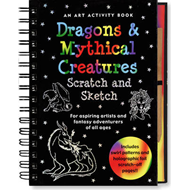 Scratch and Sketch Dragons and Mythical Creatures (BOK)