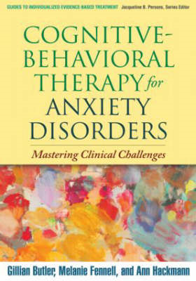 Cognitive-behavioral Therapy for Anxiety Disorders (BOK)