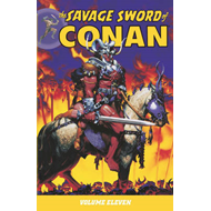 The Savage Sword of Conan: Volume 11 (BOK)