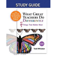 Study Guide: What Great Teachers Do Differently, 2nd Edition (BOK)