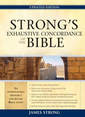 Strong's Exhaustive Concordance to the Bible (BOK)