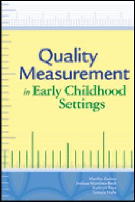 Quality Measurement in Early Childhood Settings (BOK)