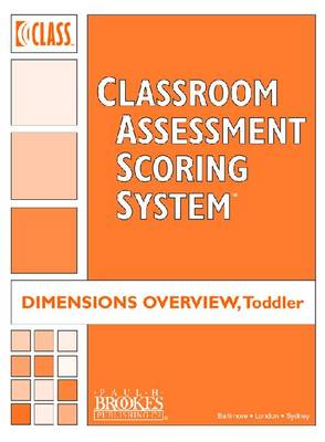 Classroom Assessment Scoring System (Class) Toddler: Class Dimensions Overview, Toddler (Pack of 5) (BOK)
