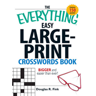 Everything Easy Large-Print Crosswords Book (BOK)