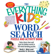 Everything Kids' Word Search Puzzle and Activity Book (BOK)