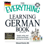 Everything Learning German Book (BOK)