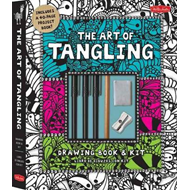 The Art of Tangling Drawing Book & Kit: Inspiring drawings, designs & ideas for the meditative artis (BOK)