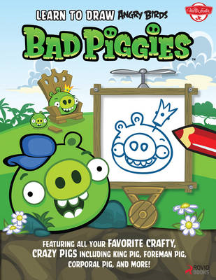 Learn to Draw Angry Birds: Bad Piggies (BOK)