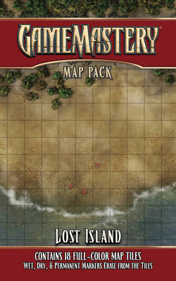 Gamemastery Map Pack: Lost Island (BOK)