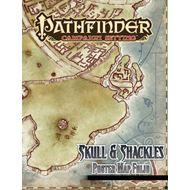 Pathfinder Campaign Setting: Skull & Shackles Poster Map Folio (BOK)