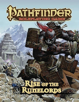 Pathfinder Adventure Path: Rise of the Runelords (BOK)