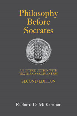 Philosophy Before Socrates (BOK)