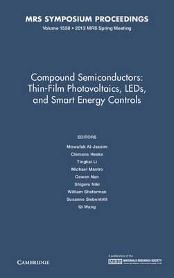 Compound Semiconductors: Volume 1538 (BOK)