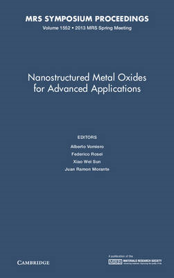 Nanostructured Metal Oxides for Advanced Applications (BOK)