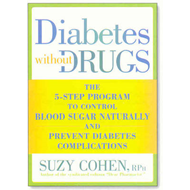 Diabetes without Drugs: The 5-Step Program to Control Blood Sugar Naturally and Prevent Diabetes Com (BOK)