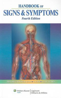 Handbook of Signs and Symptoms (BOK)