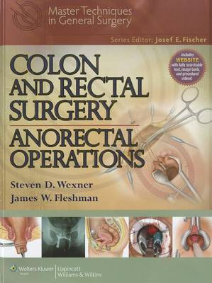 Colon and Rectal Surgery: Anorectal Operations (BOK)