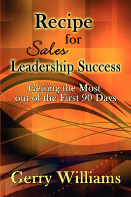 Recipe for Sales Leadership Success (BOK)