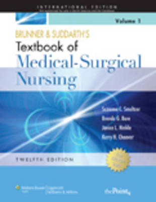 Brunner and Suddarth's Textbook of Medical-surgical Nursing (two-volume) (BOK)