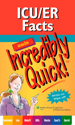 ICU/ER Facts Made Incredibly Quick! (BOK)