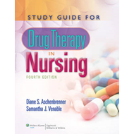 Study Guide for Drug Therapy in Nursing (BOK)