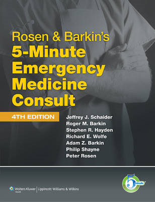 Rosen and Barkin's 5-minute Emergency Medicine Consult (BOK)