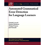 Automated Grammatical Error Detection for Language Learners (BOK)