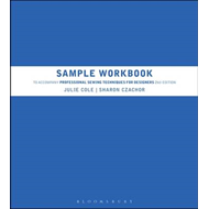 Sample Workbook to Accompany Professional Sewing Techniques (BOK)