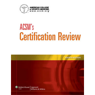 ACSM's Certification Review (BOK)