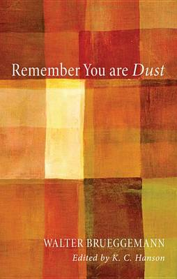 Remember You Are Dust (BOK)
