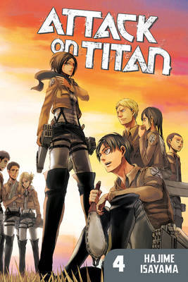 Attack On Titan: Vol. 4 (BOK)