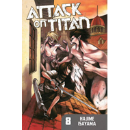 Attack on Titan: Volume 8 (BOK)