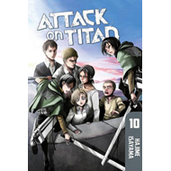 Attack on Titan: Volume 10 (BOK)