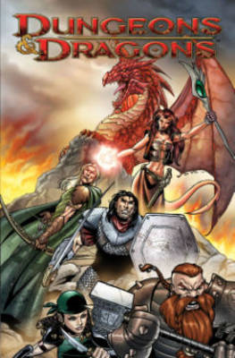 Dungeons & Dragons: Fell's Five (BOK)