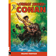The Savage Sword of Conan: Volume 13 (BOK)