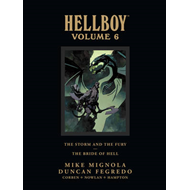 Hellboy Library Edition Volume 6: The Storm And The Fury And (BOK)