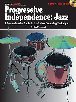 Ron Spagnardi: Progressive Independence - Jazz (BOK)