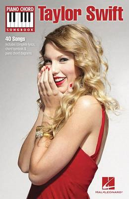 Piano Chord Songbook: Taylor Swift (BOK)