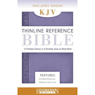 KJV Thinline Reference Bible Lilac (BOK)