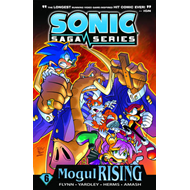 Sonic Saga Series 7: The Dark Mirror (BOK)