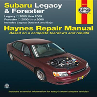 Subaru Legacy/Forester Automotive Repair Manual: 2000-09 (BOK)