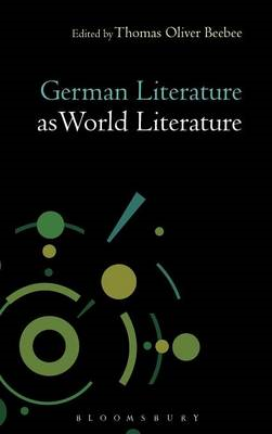 German Literature as World Literature (BOK)