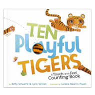 Ten Playful Tigers: A Back-and-Forth Counting Book (BOK)